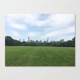 Central Park Grounds Canvas Print