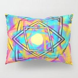 parallelogram art Pillow Sham