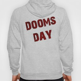Dooms day red  Hoody