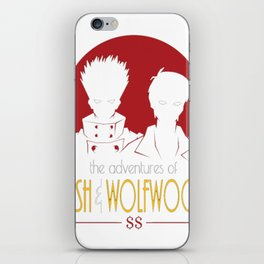 Adventures of Vash and Wolfwood iPhone Skin