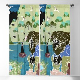 Norwegian giant  Troll 12 Blackout Curtain