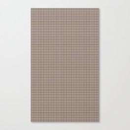 EXCLUSIVELY SERESHKI COLLECTION GREY BEIGE PLAID Canvas Print