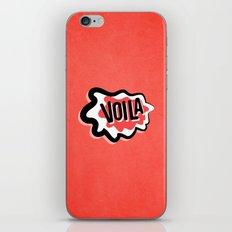 Voila iPhone Skin