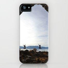Cave Rock iPhone Case