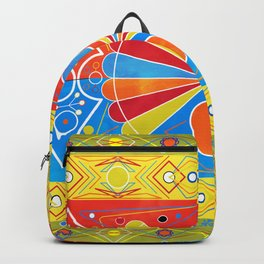 Chiva pattern Backpack