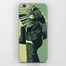 ASIAN WOMAN-GREEN VERSION iPhone & iPod Skin