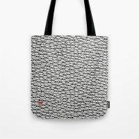 waldo Tote Bags featuring Where's Waldo? by Ax38