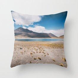 Lagunas Altiplanicas Throw Pillow