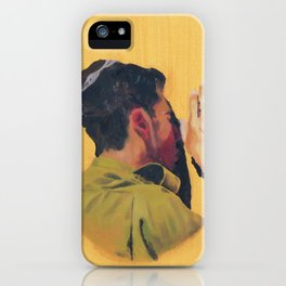 Untitled (soldier, gold) iPhone Case