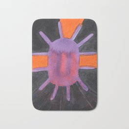 Purple Projector Bath Mat
