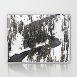 Yellowstone National Park - Lewis River 2 Laptop & iPad Skin