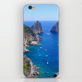 Isle of Capri Coastline iPhone Skin