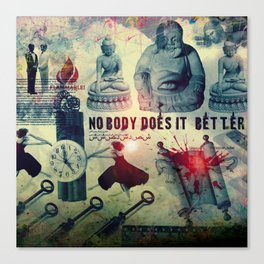 NOBODY DOES IT BETTER by ZZGLAM Canvas Print