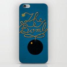 The Bomb iPhone & iPod Skin