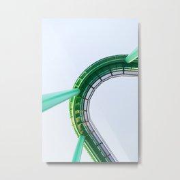 Santa Cruz Boardwalk Series 4 Metal Print