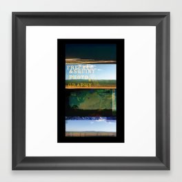 The Hills Framed Art Print