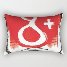 O'Prime google+ Rectangular Pillow