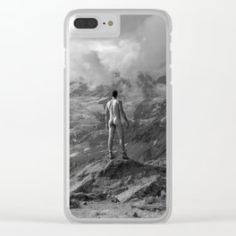 Awesome Nature Nude Hike Clear iPhone Case