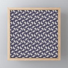 SwirlyWhirly (Patterns Please) Framed Mini Art Print