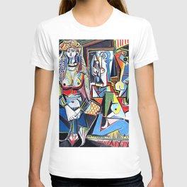 Pablo Picasso - Les Femmes d'Alger (Women of Algiers) 1955 Artwork T-shirt
