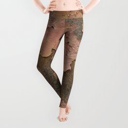 Texture #18 Rust Leggings