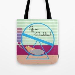 Gym Buddies Tote Bag