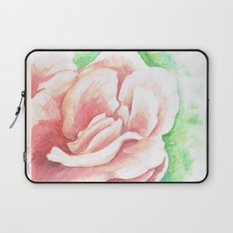 Watercolor Rose Laptop Sleeve