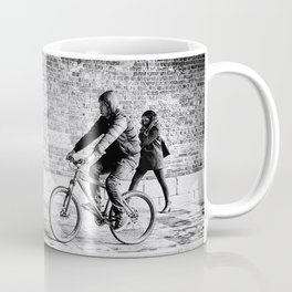 Urban Movement in Rain Coffee Mug