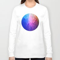 ice Long Sleeve T-shirts featuring Ice by Tony Vazquez