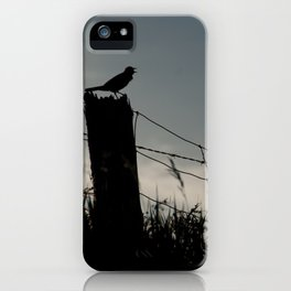 Talking Silhouette iPhone Case