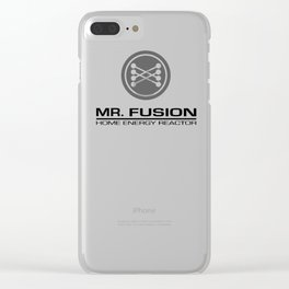 Mr.Fusion Clear iPhone Case