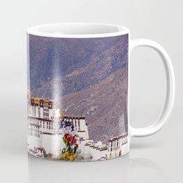 Tibet: Potala palace in Lhasa Coffee Mug
