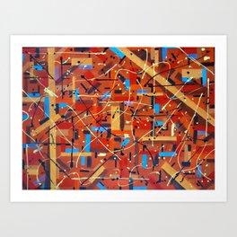 Kaos Art Print