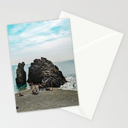 Ligurian Beach Cinque Terre Stationery Cards