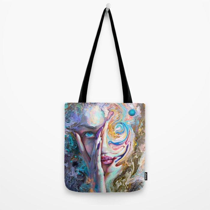 Swirling Sensation Tote Bag