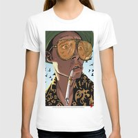 fear and loathing T-shirts featuring DEPP: Fear and Loathing in Bat Country by ThatJokerGuy