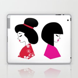 Maiko Illustration Laptop & iPad Skin