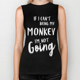 Monkey-tshirt,-my-Monkey Biker Tank
