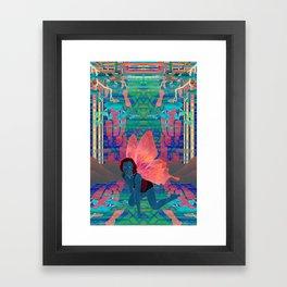effervescent redux Framed Art Print