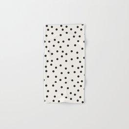 vintage dots 1 Hand & Bath Towel