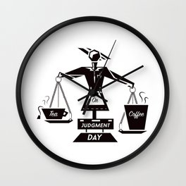 Tea or Coffee  Wall Clock