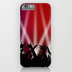 Dancing Crowd With Multi Colour and White Spotlights iPhone 6 Slim Case