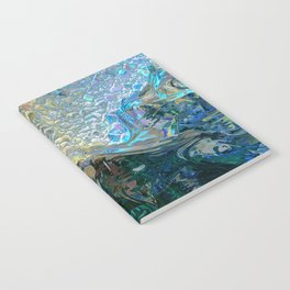 Sea Nymph Abstract Notebook