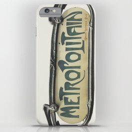Metropolitain iPhone Case