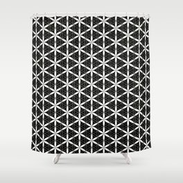Flower of Life Pattern 3 Shower Curtain