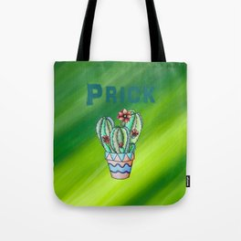 prickly little cactus Tote Bag