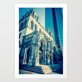 Cathedral Copley Square - Boston Art Print