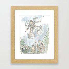 """""""Dronny Johnny """" Framed Art Print"""