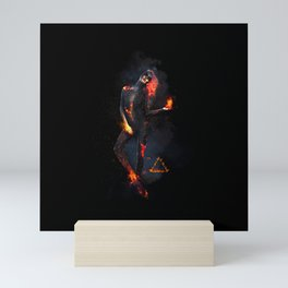 Fire Witch - Elements Collection Mini Art Print