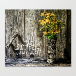 Summer Thankfulness Canvas Print